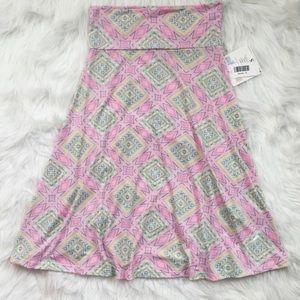 NWT LuLaRoe Azure A-line skirt